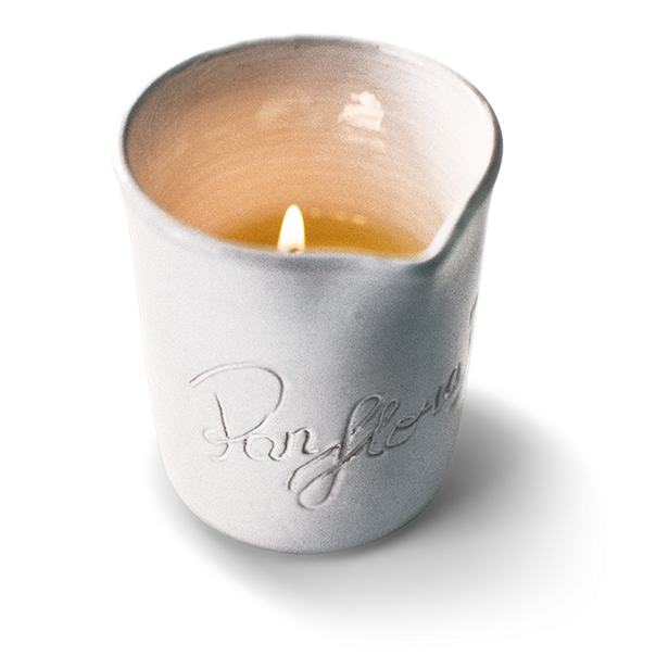Orange Roses massage candle